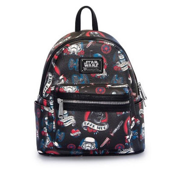 b32d83d519a Loungefly Handbags - Loungefly Star Wars Disney mini backpack